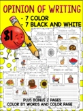 OPINION OF WRITING 14 PAGES 7 COLOR AND 7 B/W AND BONUS 2