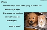 OPINION PERSUASIVE WRITING - SUPPLEMENT - Google Slides, PowerPoint, SMART, PDF