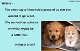 OPINION PERSUASIVE WRITING -SUPPLEMENT - Google Slides, PowerPoint, SMART, & PDF