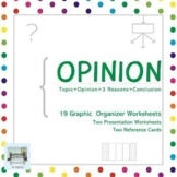 OPINION - 19 Graphic Organizer Worksheets