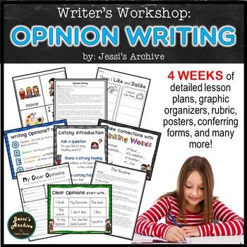 OPINION WRITING!