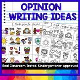 OPINION WRITING IDEAS