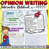 OPINION WRITING: INTERACTIVE NOTEBOOK