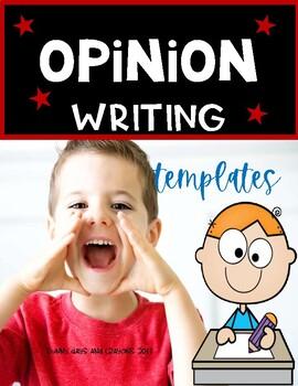 OPINION WRITING TEMPLATES  { FREE }