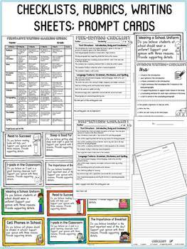 OPINION/PERSUASIVE WRITING: EDITABLE FLIPBOOK ORGANIZER