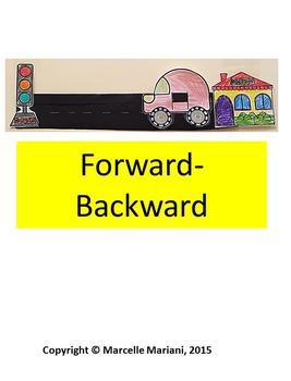 OPPOSITES- Art Activities- Up & Down, Forwards & Backwards