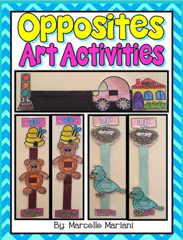 OPPOSITES- Art Activities- Up & Down, Forwards & Backwards