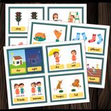 OPPOSITES CARD SET 1 : Kids Basic Concepts & Attributes Activity Preschool PECS