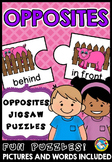 OPPOSITES  ACTIVITY (ANTONYMS MATCH UP)