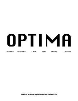 OPTIMA: Strategy for Orienting with Unfamiliar Texts