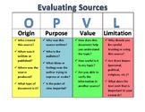 OPVL: Evaluating Sources