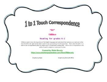 """OR"" 1:1 Correspondence"