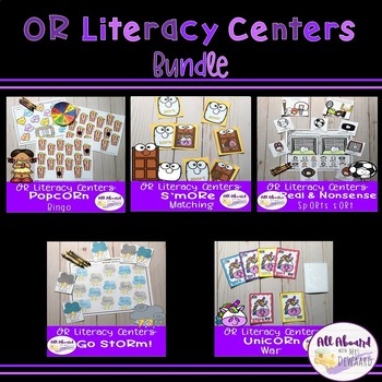 OR Literacy Centers Pack