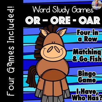 OR, ORE, OAR [[Word Family GAMES!]]