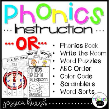 OR Phonics Instruction Curriculum