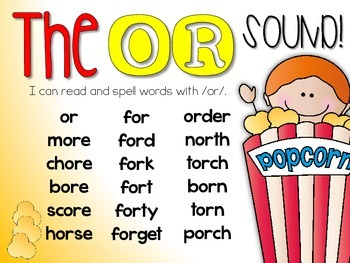 OR - R-Controlled Vowel Phonics Unit