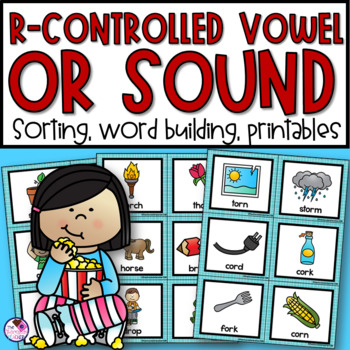 OR Controlled Vowel Unit Activities and Worksheets