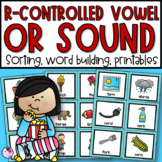 OR Worksheets R Controlled Vowel Unit Activities