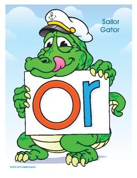 OR (Sailor Gator) Word Buddy Poster