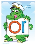 OR (Sailor Gator) Word Buddy Poster