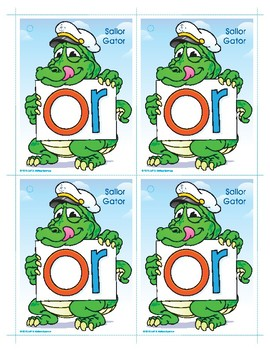 OR (Sailor Gator) Word Buddy Card