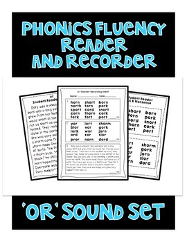 OR Sound - Phonics Fluency Assessment