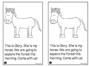 OR Sound Reader: Glory the Horse