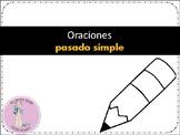 ORACIONES PASADO SIMPLE