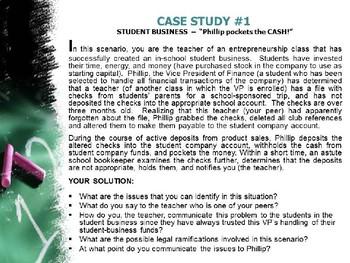 "CTE & ELA – Oral Communication –""Case Studies for Class Discussion"""