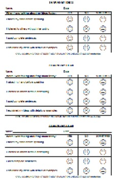 ORAL COMMUNICATION rubric self-evaluation Core French Imme