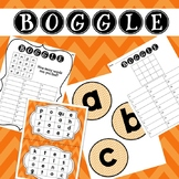 ORANGE Boggle - Whole class, Small group, Independent variations
