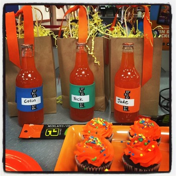 ORANGE H2O ID® Reusable Colorful Water Bottle Bands, Labels, Sleeves, Wraps