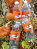 ORANGE H2O ID® Reusable Colorful Water Bottle Bands, Label