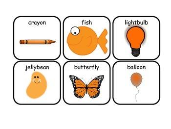 ORANGE Interactive Sight Word Reader; Kindergarten; Autism