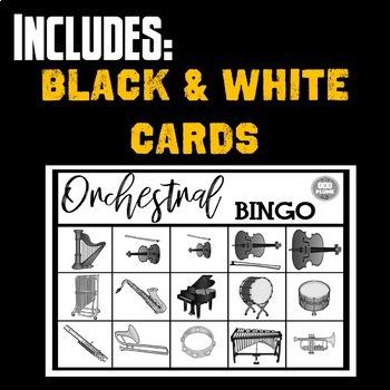 ORCHESTRA BINGO (Listening edition)