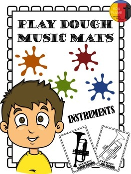 ORCHESTRA INSTRUMENTS - PLAY DOUGH MATS