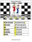 Orden de Operaciones Mnemonica (Español)