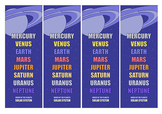 ORDER of the PLANETS Bookmarks