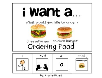 ORDERING: I want a... Ordering Food Adapted Book Special E