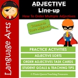 ADJECTIVE ORDER PRACTICE ACTIVITIES CCSS Aligned 4th Grade Up