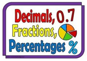 ORDERING RATIONAL NUMBERS (Decimal and Fraction) TASK