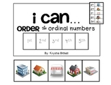 ORDINAL NUMBERS: 1st-5th Adapted Book PRINT and GOOGLE NO PREP