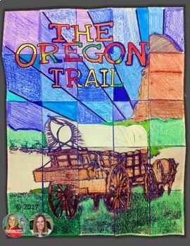 OREGON TRAIL, CLOSE READS UNIT, COLLABORATIVE POSTER, WRITING ACTIVITY
