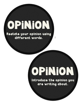 """""""OREO"""" Anchor Charts for Opinion Writing"""