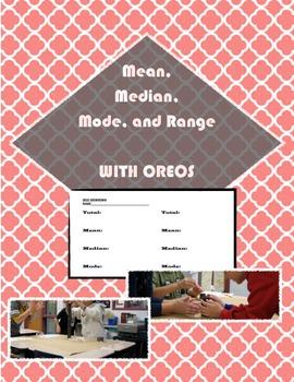 OREO--Mean, Median, Mode, Range