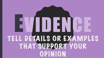 OREO Opinion / Persuasive Writing Posters