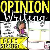 Opinion Writing using OREO