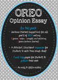 OREO Opinion Writing - 5 paragraph organizer and rubric