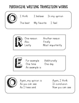 persuasive words and phrases examples