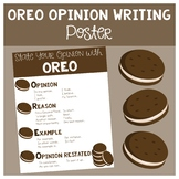 OREO Opinion Writing Poster